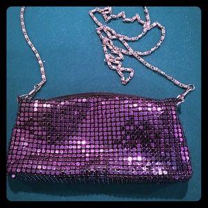 Soft Sequin Purple Evening Bag❤️